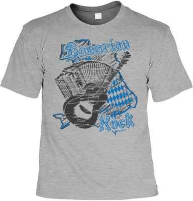 Trachten-T-Shirt: Bavarian Rock