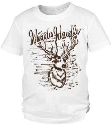 Trachten T-Shirt Jungen: Hirsch Wuida Waidler