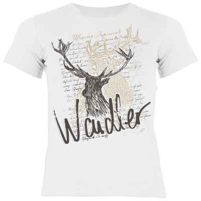Trachten Shirt Mädchen: Hirsch - Waidler
