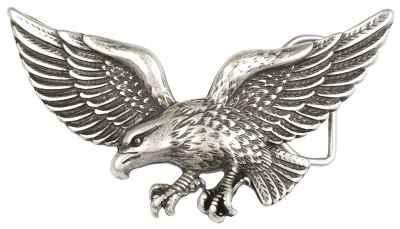 Gürtelschliesse: Adler 14 x 7,5 cm 40 mm
