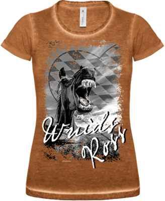 Trachten Damen T-Shirt: Wuids Ross