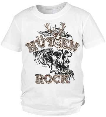 Jungen T-Shirt Trachten: Hütten Rock