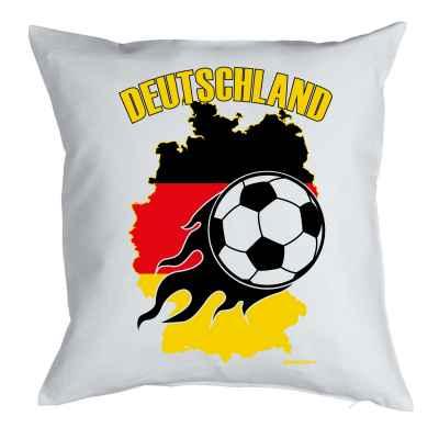 Kissen mit Füllung: Deutschland - Fussball