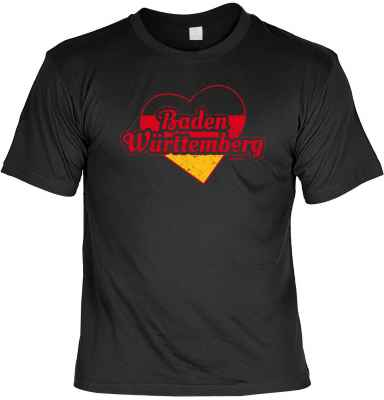 T-Shirt: Baden Württemberg - Herz