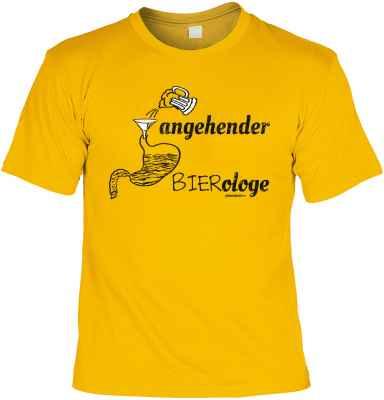 T-Shirt: angehender Bierologe