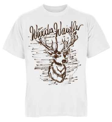 Trachten T-Shirt: Hirsch Wuida Waidler