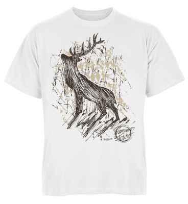Trachten T-Shirt: Hirsch Premium Tracht