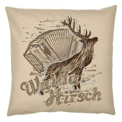 Kissenbezug Tracht: Wuida Hirsch