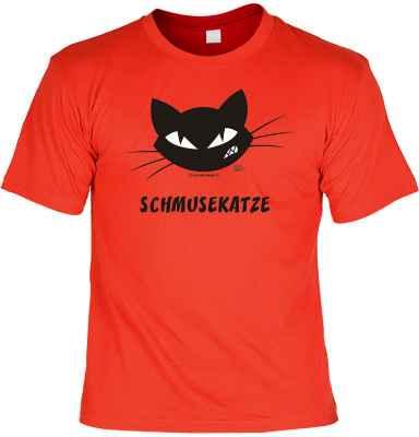 T-Shirt: Schmusekatze