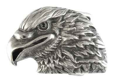 Gürtelschliesse: Adler 7 x 5 cm