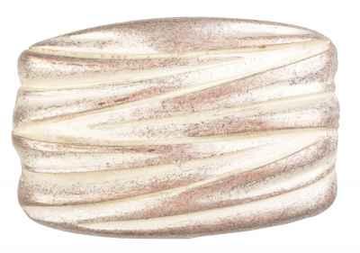 Gürtelschliesse: Stripes 7 x 4,6 cm 40 mm