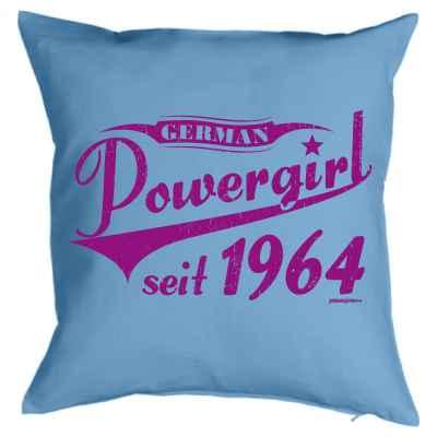 Kissenbezug: German Powergirl seit 1964