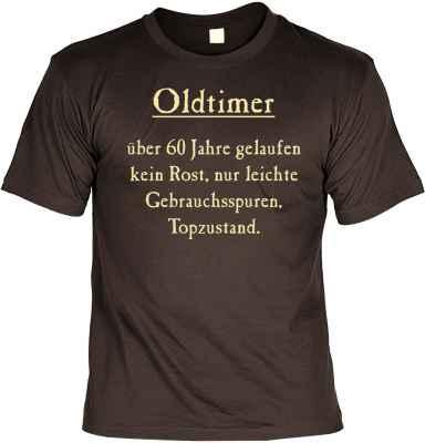 T-Shirt: Oltimer über 60 Jahre gelaufen?