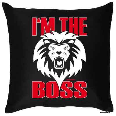 Kissen mit Füllung: I m the Boss