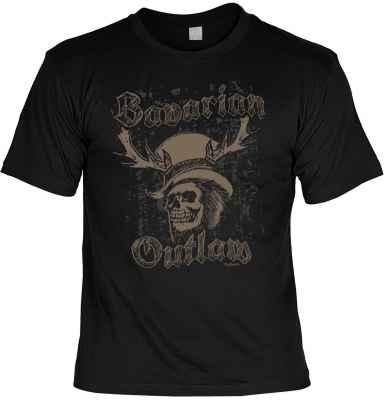 T-Shirt Landhaus: Bavarian Outlaw