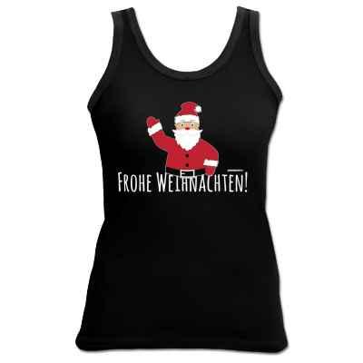 Tank Top Damen: Frohe Weihnachten! - Weihnachtsmann
