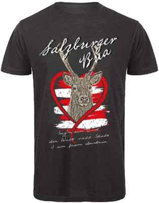 T-Shirt Trachten: Salzburger Bua