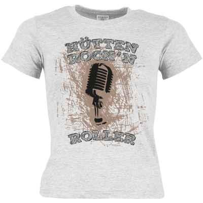 T-Shirt Mädchen Tracht: Hütten Rock n Roller
