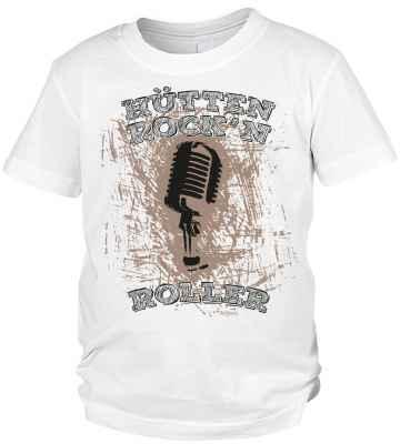 Trachten T-Shirt Jungen: Hütten Rock n Roller