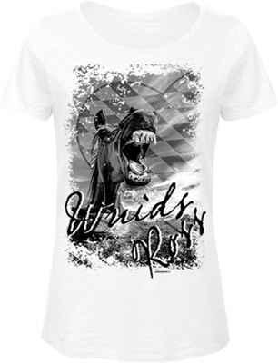 Landhaus Damen T-Shirt: Wuids Ross