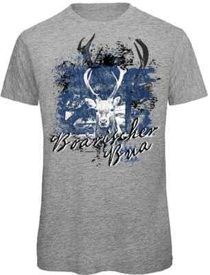 T-Shirt Landhaus: Boarischer Bua
