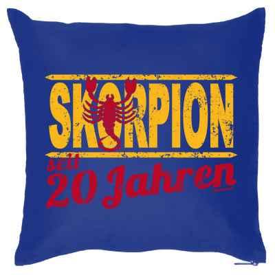 Kissenbezug: Skorpion seit 20 Jahren