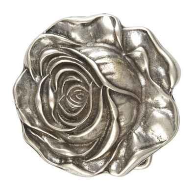 Gürtelschliesse: Rose 7 x 7,2 cm 40 mm