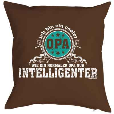 Kissenbezug: Ich bin ein cooler Opa - wie ein normaler Opa nur intelligenter