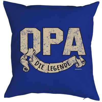 Kissenbezug: Opa - Die Legende