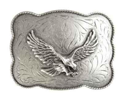 Gürtelschliesse: Adler 9,5 x 7 cm