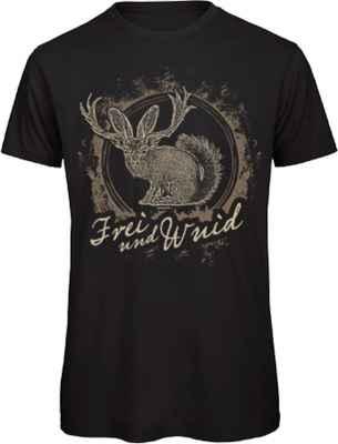 T-Shirt Landhaus: Frei und Wuid