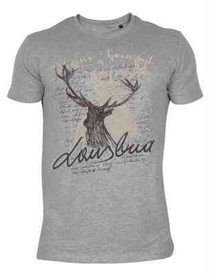 T-Shirt im Landhauslook: Hirsch Lausbua
