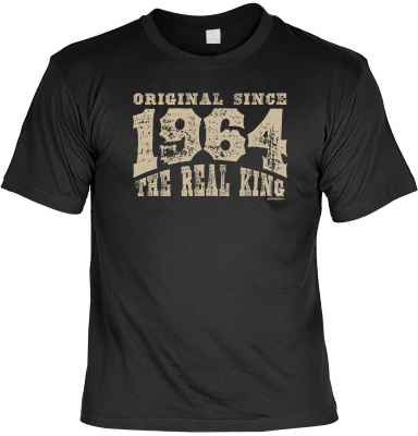 T-Shirt: Original since 1964 - The real King