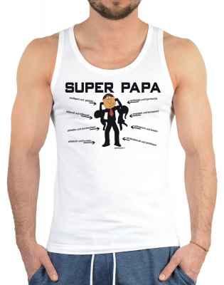 Tank Top Herren: Super Papa