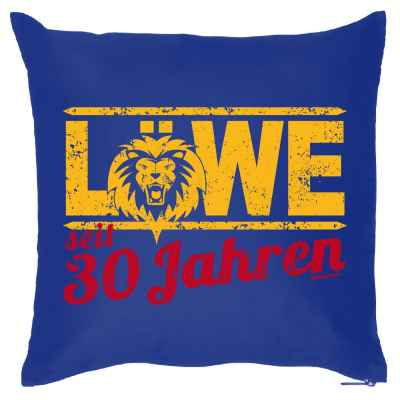 Kissenbezug: Löwe seit 30 Jahren