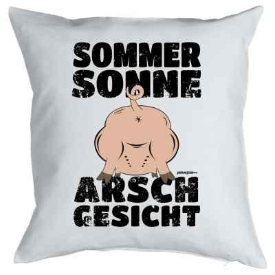 Kissenbezug: Sommer, Sonne, Arschgesicht