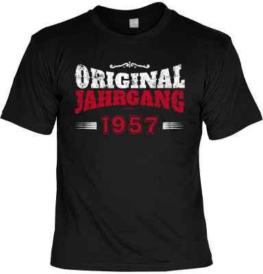 T-Shirt: Original Jahrgang 1957