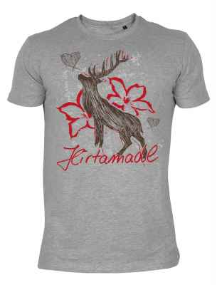 Landhaus T-Shirt: Hirsch Hirtamadl