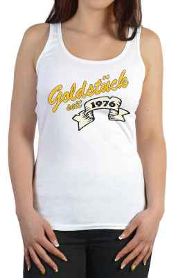 Tank Top Damen: Goldstück seit 1976