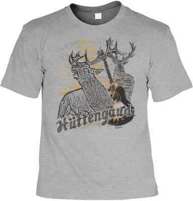 Trachten T-Shirt: Hüttengaudi