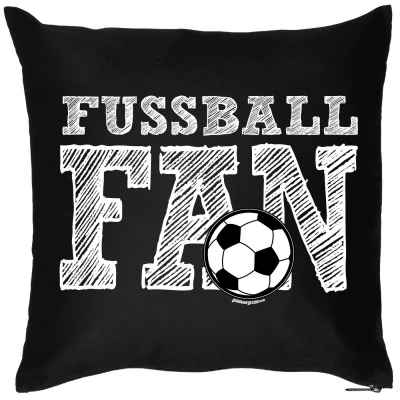 Kissen mit Füllung: Fussball Fan