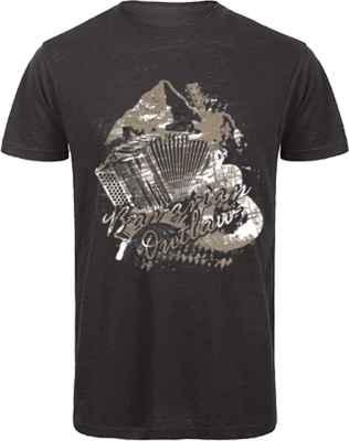 Landhaus T-Shirt: Bavarian Outlaw