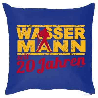 Kissenbezug: Wassermann seit 20 Jahren