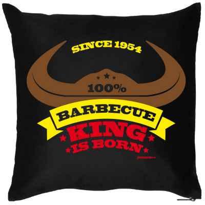 Kissen mit Füllung: since 1954 - 100 Prozent Barbecue King is born