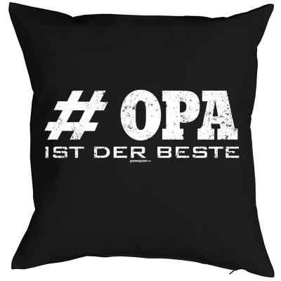 Kissenbezug: # Opa ist der Beste