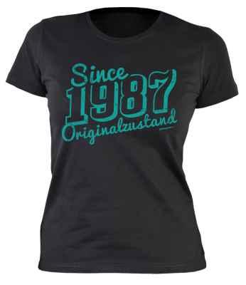 Damen T-Shirt: Since 1987 Originalzustand