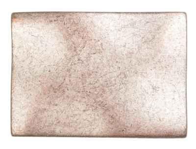 Gürtelschliesse: Naturell 6,4 x 4,5 cm 40 mm