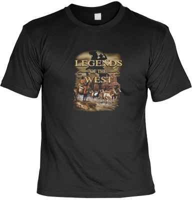 T-Shirt: Legend of the west