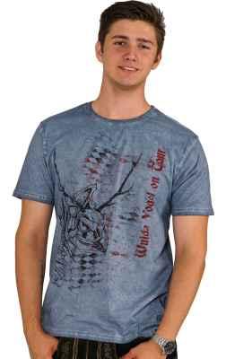 Wuida Vogel on Tour Trachten T-Shirt