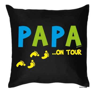 Kissen mit Füllung: Papa ? on Tour